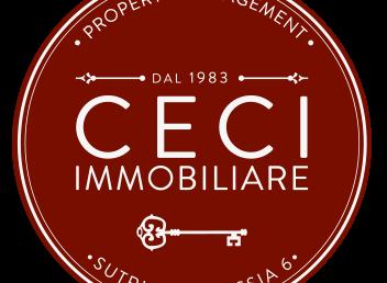 logo CECI immobiliare 2020 solo cerchio rosso